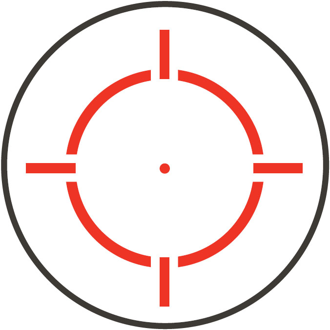 Retícula Circle Crosshair