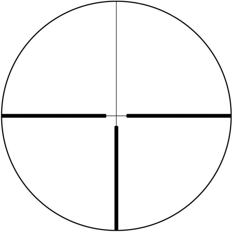 Retícula 4A en 2º plano focal