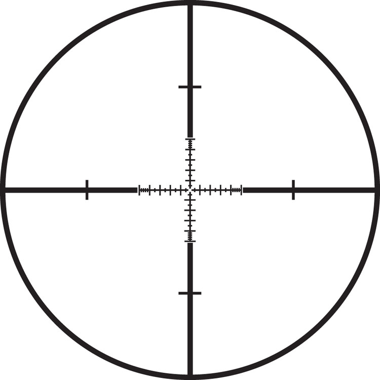 Retícula TMR (Tactical Milling Reticle)