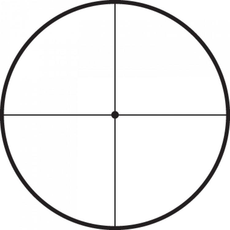 Retícula 1/8 min. Target Dot.