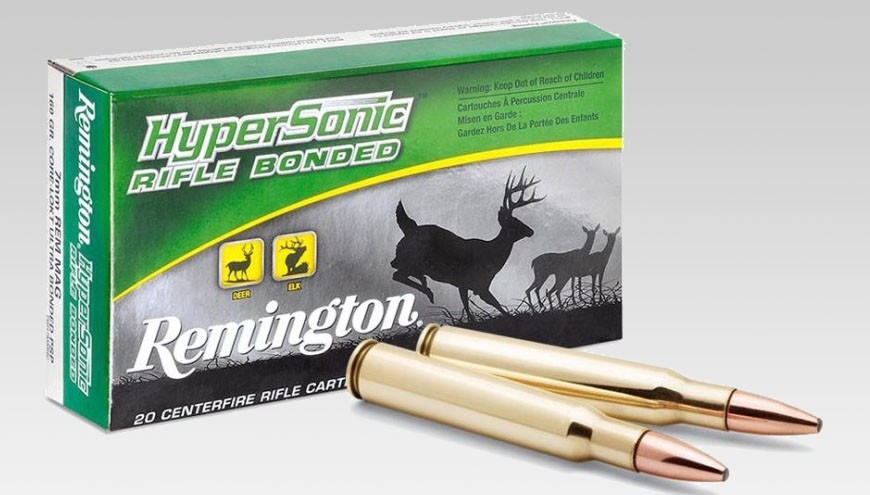 Munición Remington Hypersonic Rifle Bonded. Especialización de la Core-Lokt.