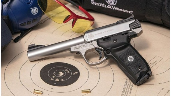 Pistola Smith & Wesson SW22 Victory. Más allá del tiro recreativo.