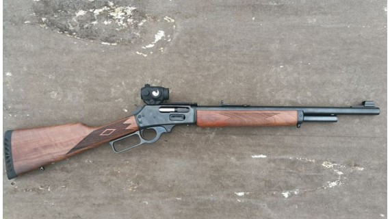 Marlin 1895G. Un rifle intemporal.