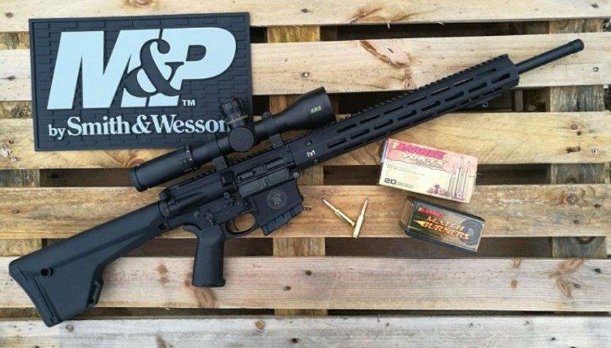 Smith & Wesson M&P10 Performance Center. Semiautomático con precisión de cerrojo en 6,5 Creedmoor.