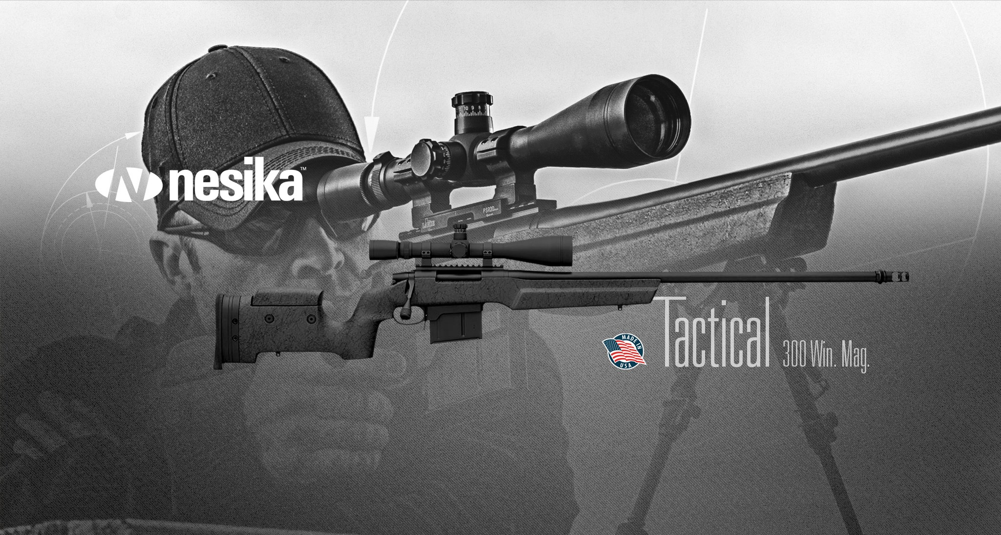 Rifle de cerrojo Nesika TACTICAL