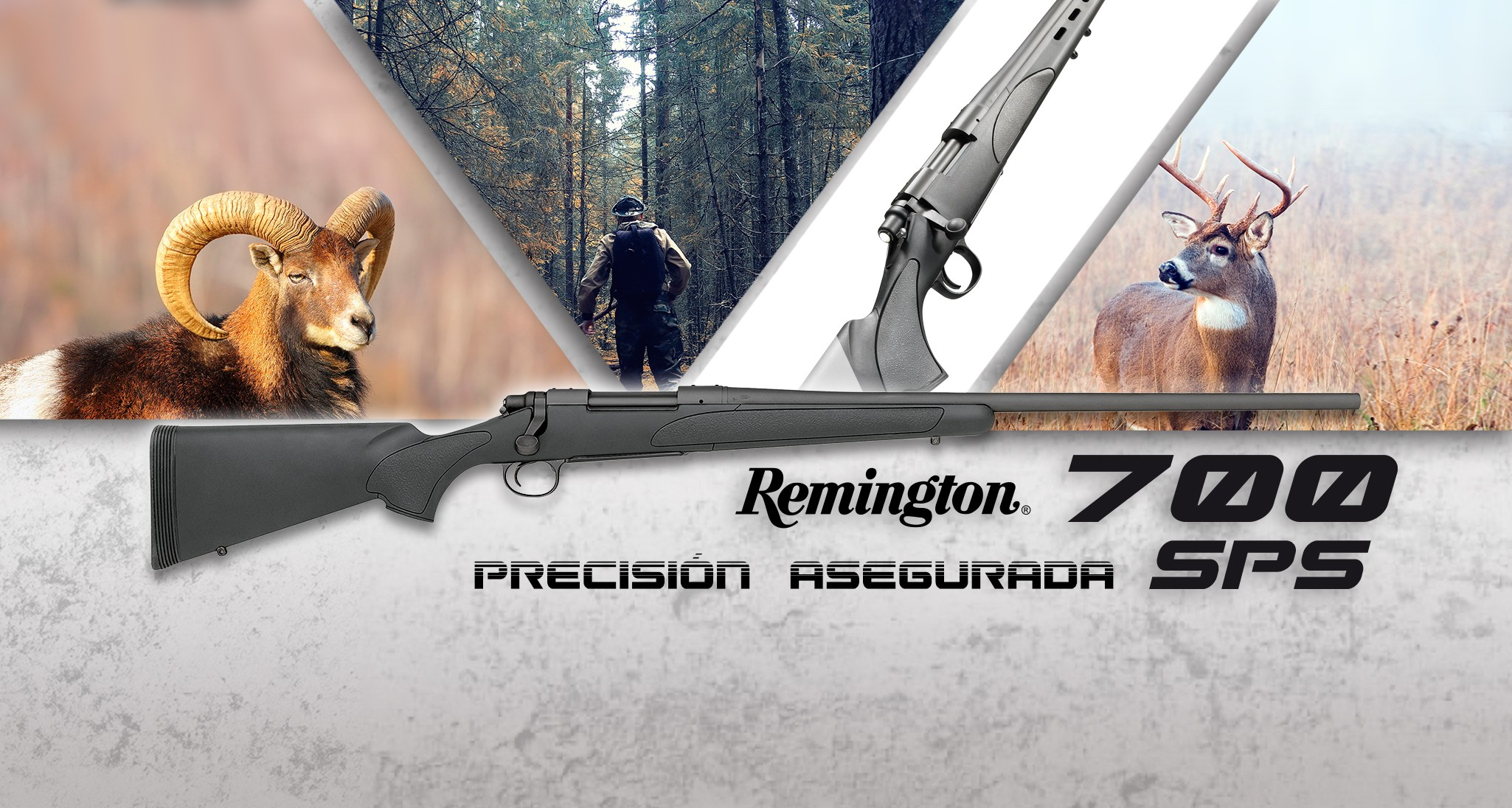 Rifles de cerrojo REMINGTON 700 SPS